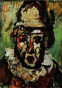 Clown Tragique by Rouault (1911)