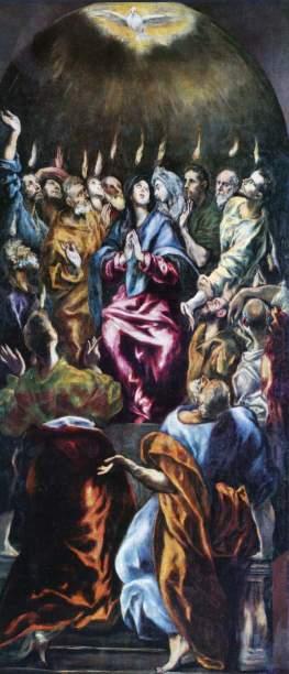 Pentecost by El Greco