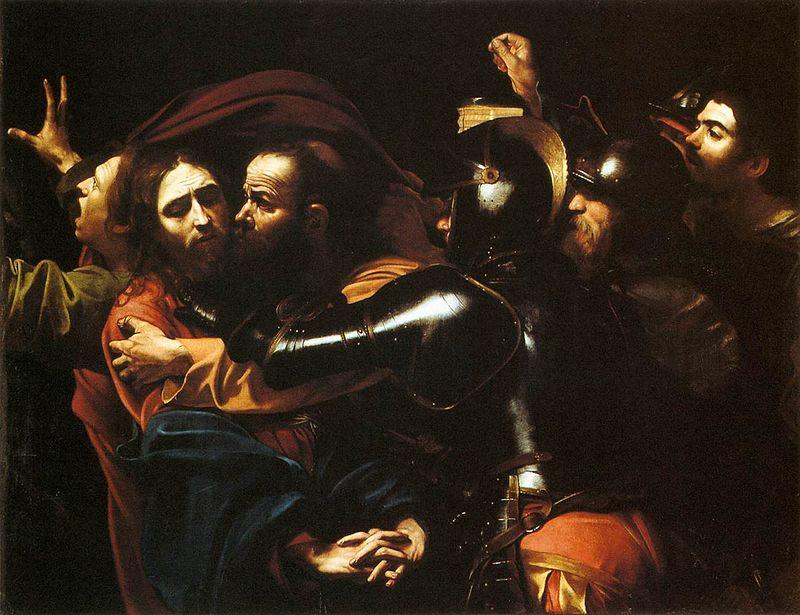 800px-Caravaggio_-_Taking_of_Christ_-_Dublin