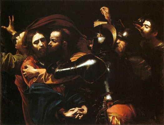 800px-Caravaggio_-_Taking_of_Christ_-_Dublin